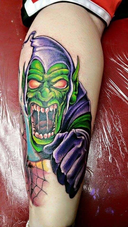 The green goblin tattoo