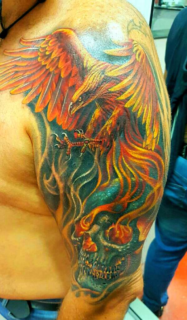 Freedom after hell tattoo