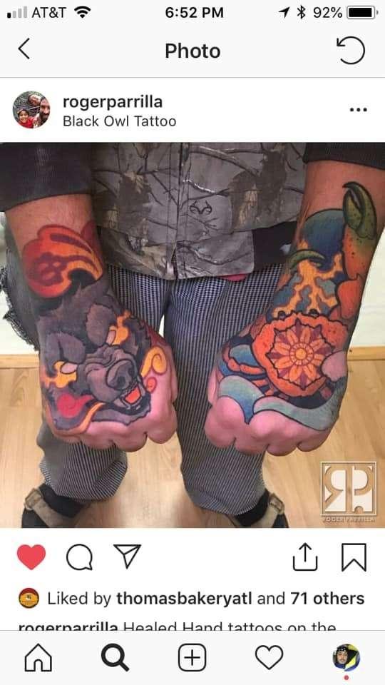 IDK tattoo