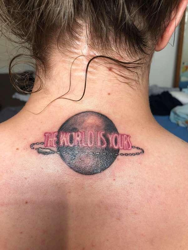 Scarface tattoo tattoo