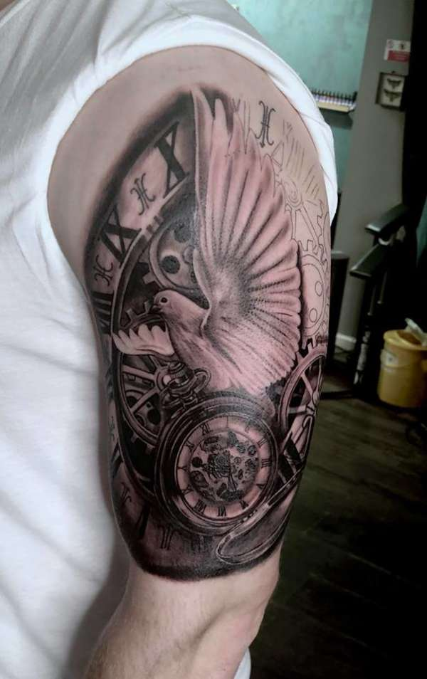 Sleeve start tattoo