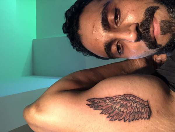 Wing Design tattoo