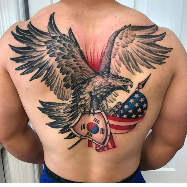 1st back tattoo tattoo