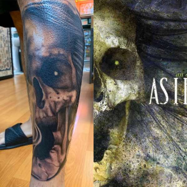 As I Lay Dying Cover tattoo