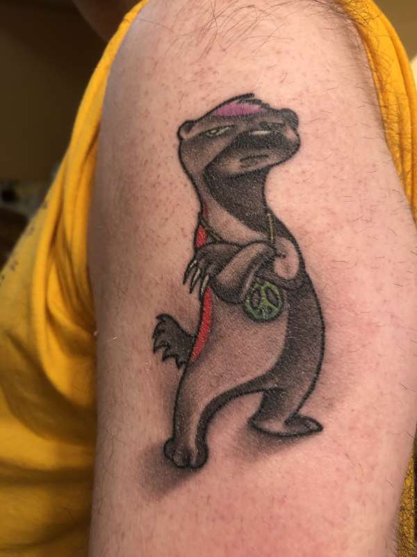 Honey Badger tattoo
