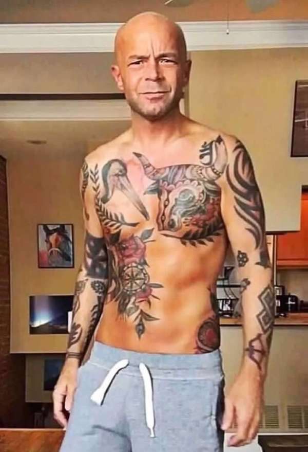 Multiple but same artist tattoo