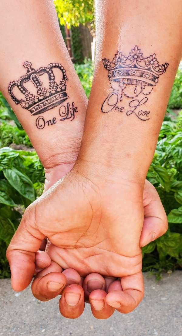 One life, one love tattoo