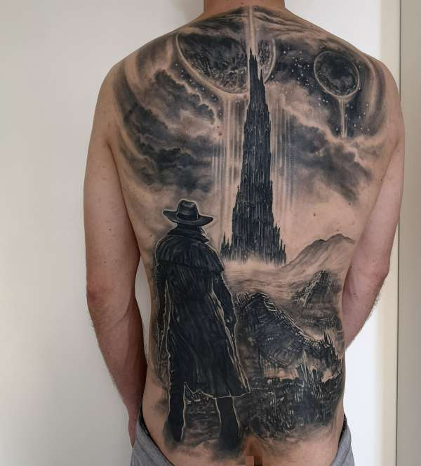 The Dark Tower tattoo