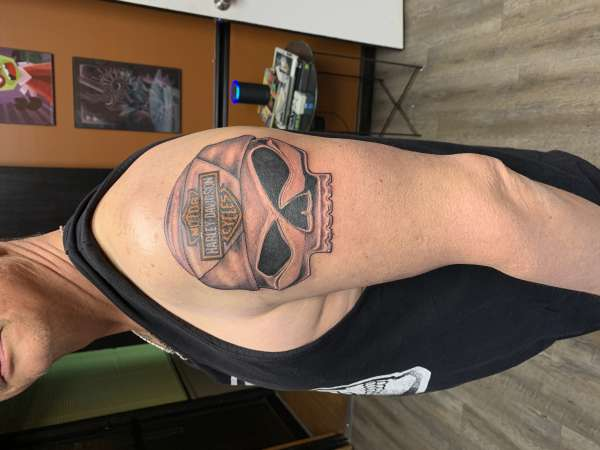 Willie G - First Session tattoo