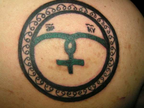 ARCHANGEL RAPHAEL(SYMBOL) tattoo