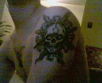 left shoulder tattoo