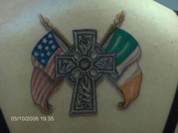 Catholic Irish American Tattoo
