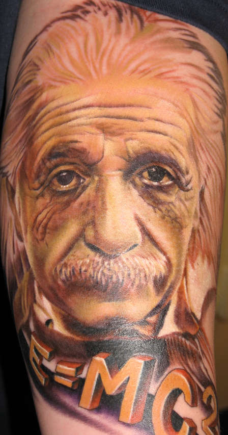 Einsteiner tattoo