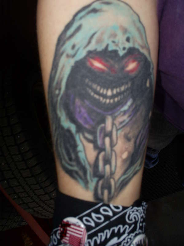 Disturbed tattoo