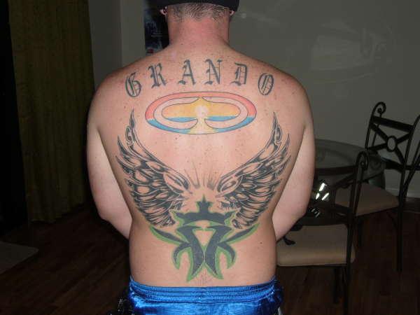 KMK tattoo