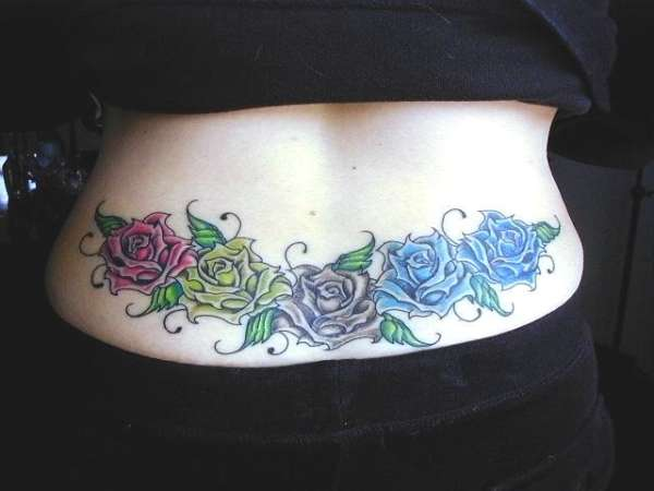 Family of Roses tattoo
