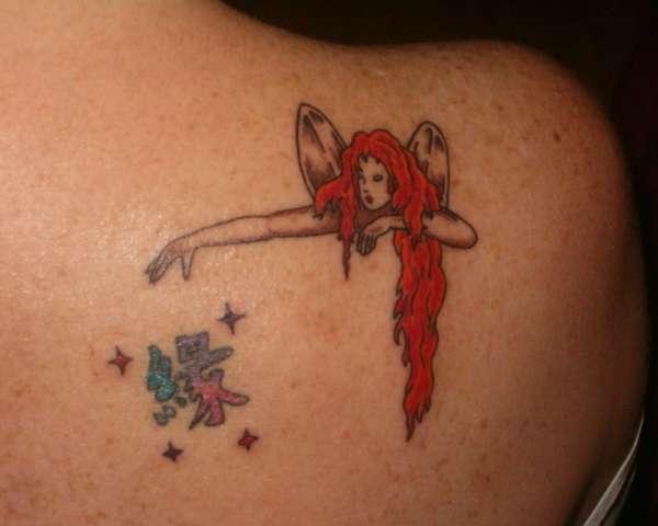 Fairy Dust tattoo