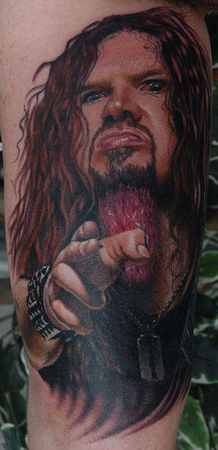 dimebag tattoo