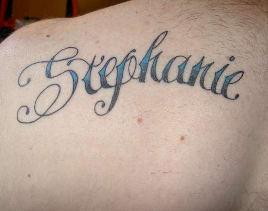 Stephanie tattoo