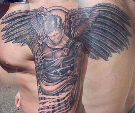St.Michael tattoo