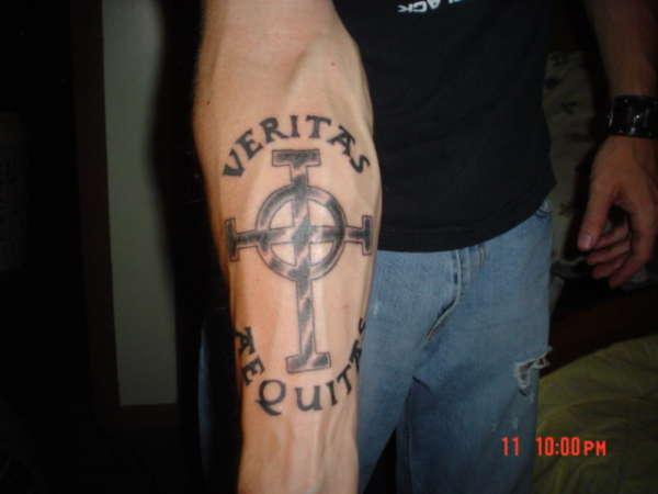 Veritas tattoo