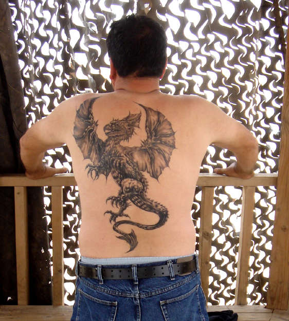 Bangkok Dragon tattoo