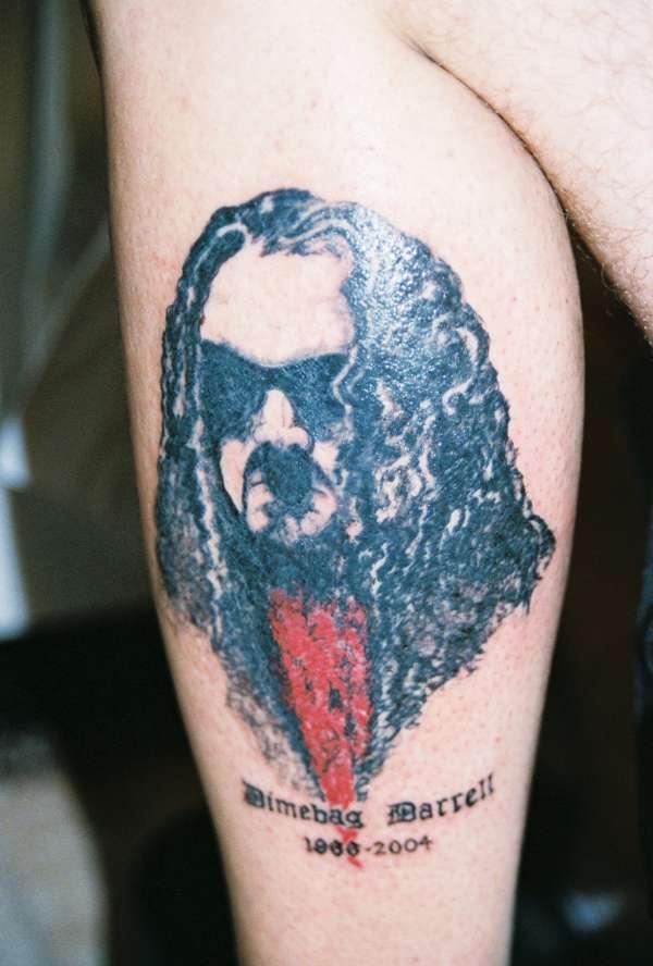 dimebag darrell tattoo
