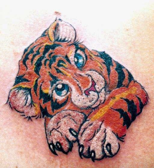 TIGER CUB by Lex tattoo