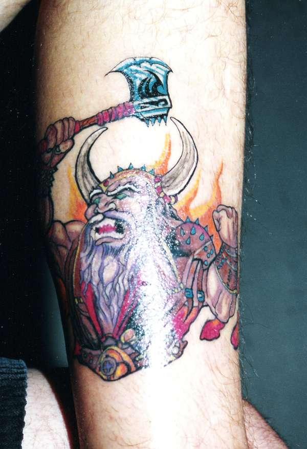 viking by Lex tattoo