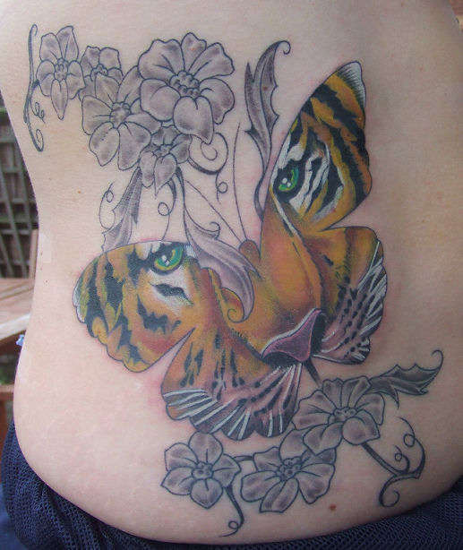 tigerfly tattoo
