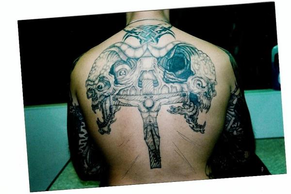 MY BACK!!! tattoo
