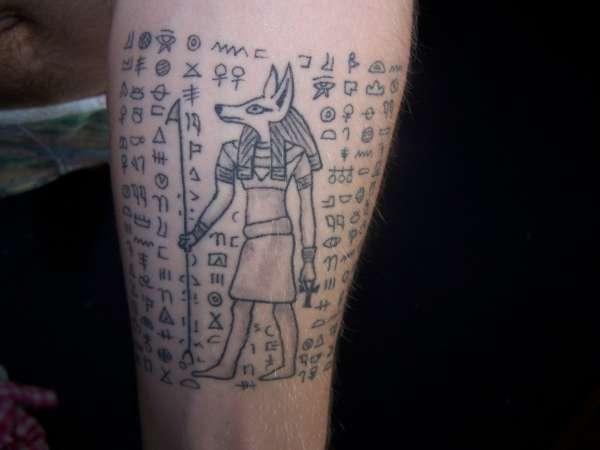 Ancient Egypt tattoo