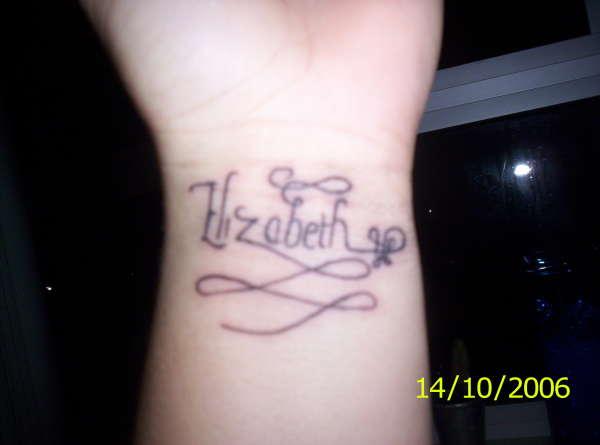 My Name tattoo