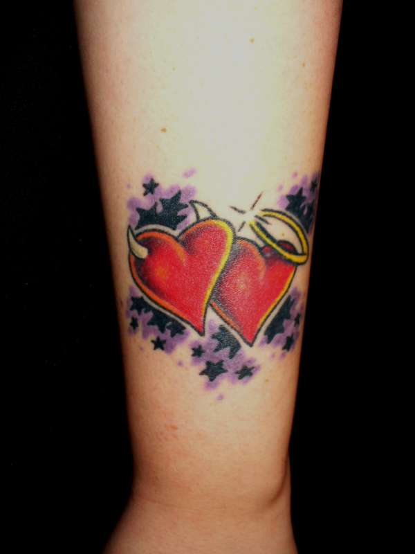 Third Tat..outer forearm tattoo