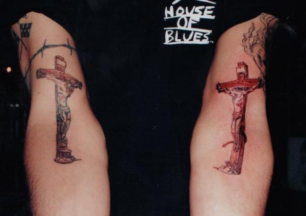 brimstone good and evil tattoo