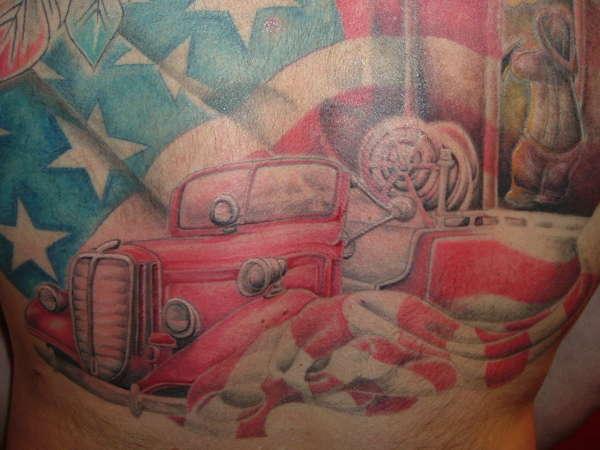 FIRETRUCK tattoo