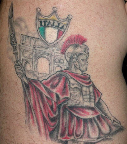 Roman Legionaire tattoo