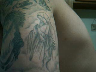 Blessed Mother tattoo