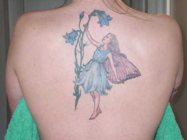 The Harebell Fairy tattoo