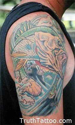 Snook tattoo