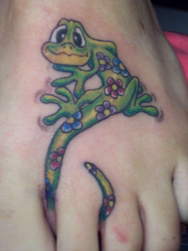 Foot i did tattoo