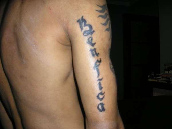 football benfica tattoo