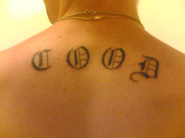 cood tattoo my 1st tattoo
