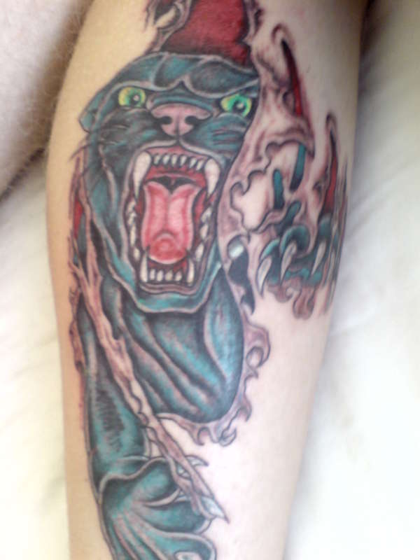 panther tattoo tattoo