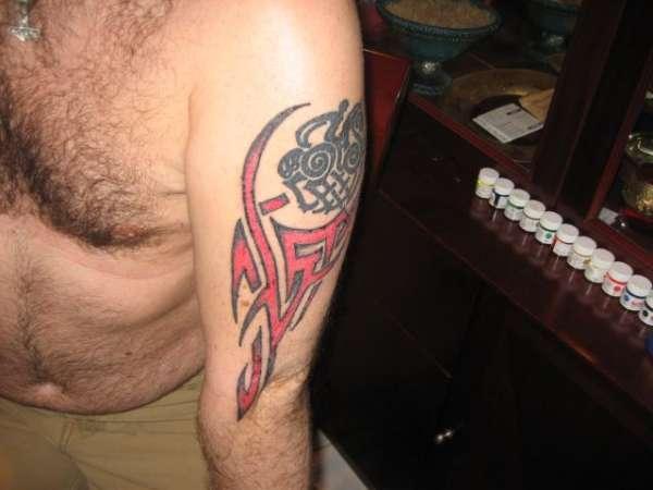 Sleipnir tattoo