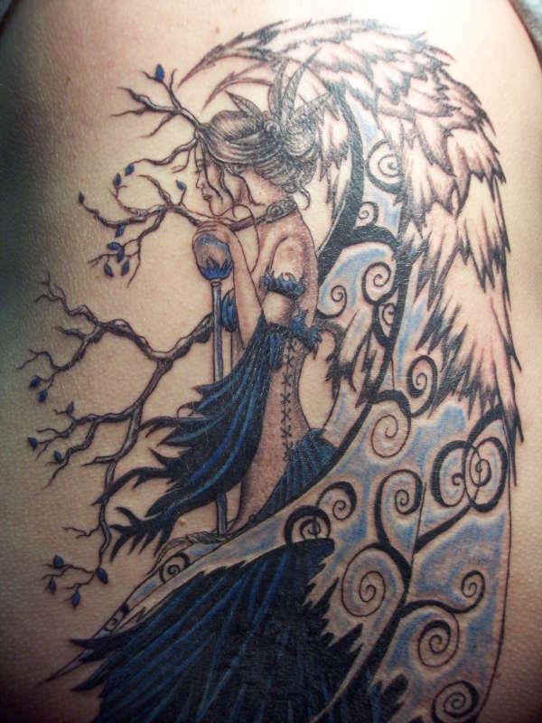 Katrina's Fairie tattoo