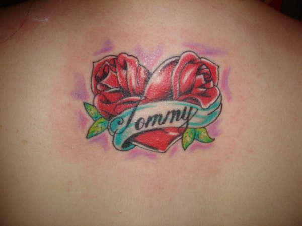 Name In Heart Tattoo