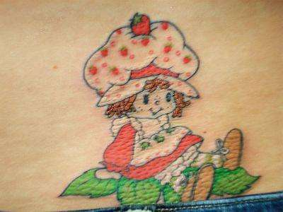 STRAWBERRY SHORTCAKE tattoo