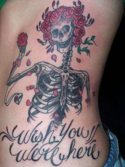 grateful dead and pink floyd tattoo