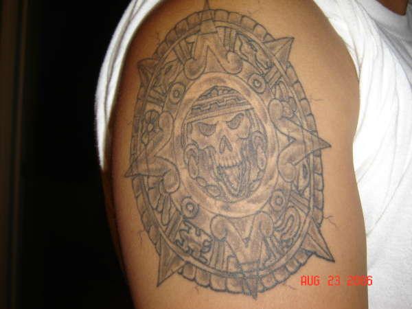 Aztec Calendar tattoo